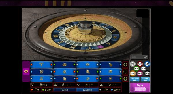 Astro Roulette is an unique Roulette variant