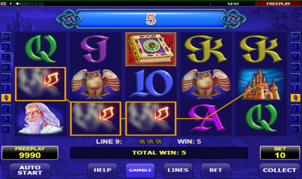 Book of Fortune slot can be played at any of our recommended Amatic casinos