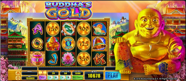 Buddha's Gold is yours for the taking!