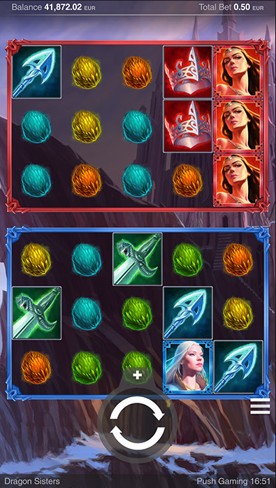 Dragon Sisters slot is available at any PushGaming casino
