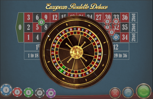 European Roulette Deluxe is a beautiful roulette variant