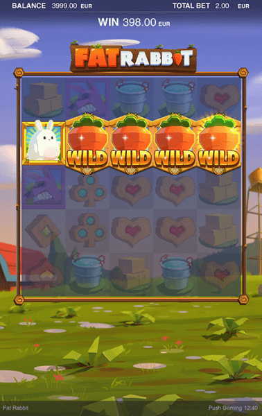 Fat Rabbit is an incredibly fun-to-play slot developed by PushGaming
