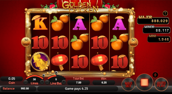 Win the jackpot with Golden Chicks by SA Gaming