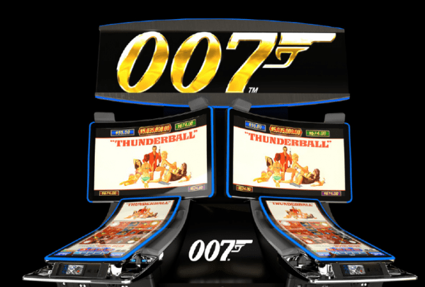 James Bond Thunderball slot is developed by WMS