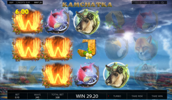 Kamchatka slot is a must try - at every operator with an Endorphina portfolio