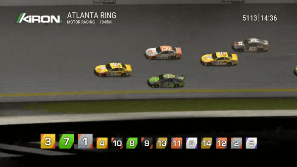 A new take on car racing - available in any Kiron casino!