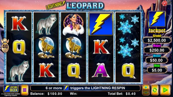 Lightning Leopard is a slot like no other, developed by LightningBox Games