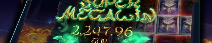 Gods of Gold Slot Super Mega Win