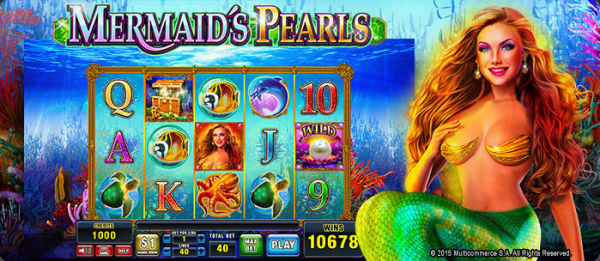 Multicommerce casinos are home to the Mermaids Pearls slot