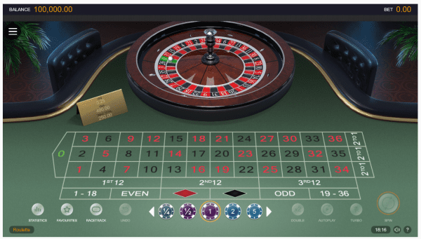 Microgaming is also known for crafting beautiful roulette games
