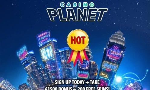 Casino Planet Hot Offer