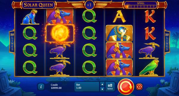 Enjoy Playson's Solar Queen slot