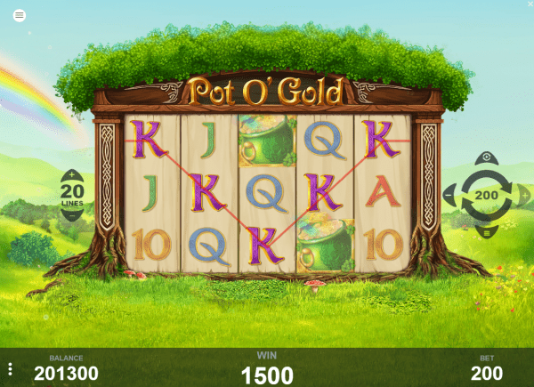 Pot p'Gold slot will really bring out the luck in every spin!
