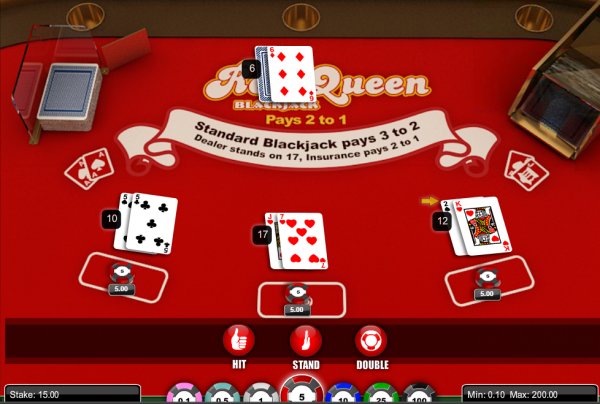 Red Queen Blackjack is a magnet for Blackjack enthusiasts