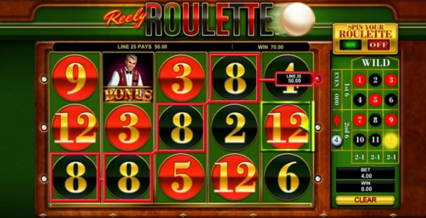 Reely Roulette is a must try for those of you who would like an unique twist between slots and table games