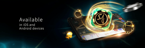SA Gaming games can be played on any mobile device
