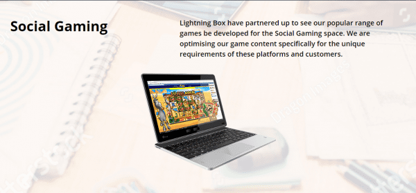 Social Gaming with LightningBox games