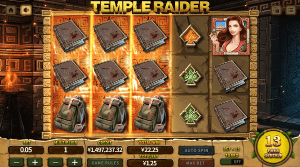 Play Temple Rider slot at any of our Asia Gaming casinos