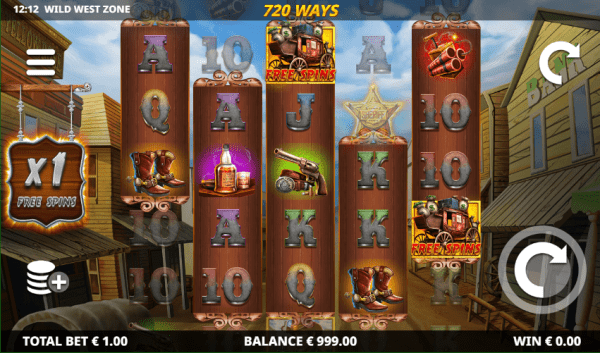 Wild West Zone slot is a great game that can be played in any Leander Casino
