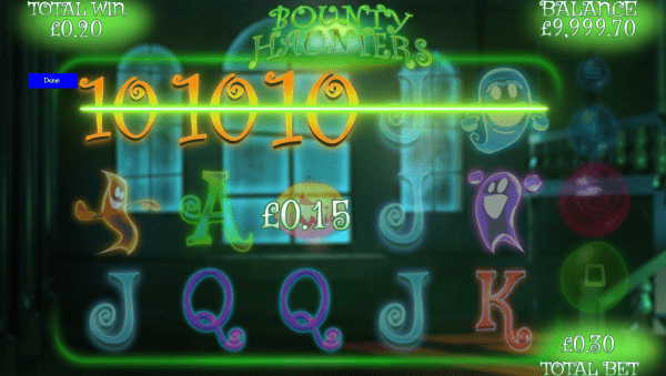 GamesWarehouse is proud to take you on a spooky adventure called Bounty Haunters slot!