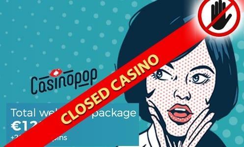 CasinoPop Closed Casino