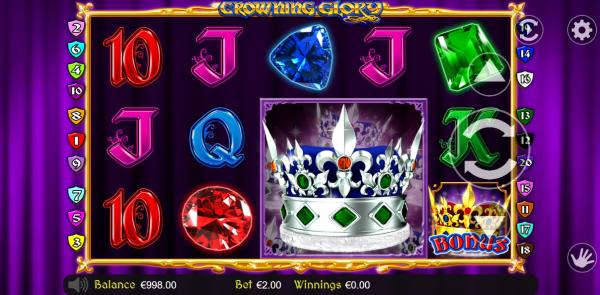 Betdigital proudly presents the Crowning glory slot