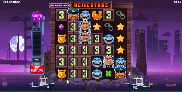 Hellcatraz slot can be played at any Relaxgaming casino