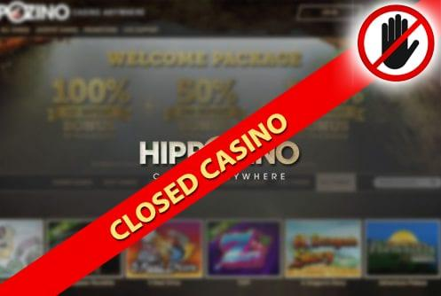 Hippozino Casino Closed Casino