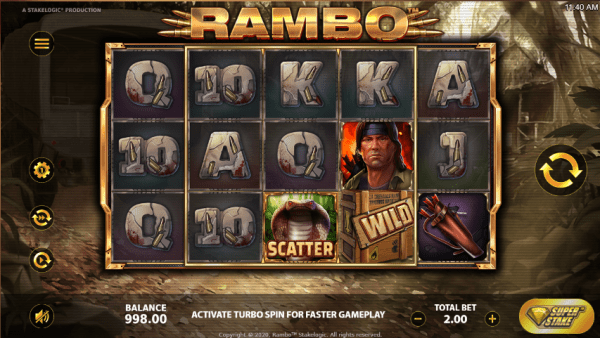Fight alongside Rambo and discover mouth-watering prizes!