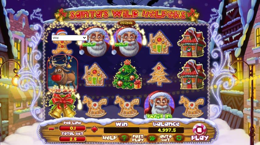 Santa Wild Helpers RTP: This impressive Slot Game has an RTP of 93.6% and you can choose the coin size between 0.01 and 10.