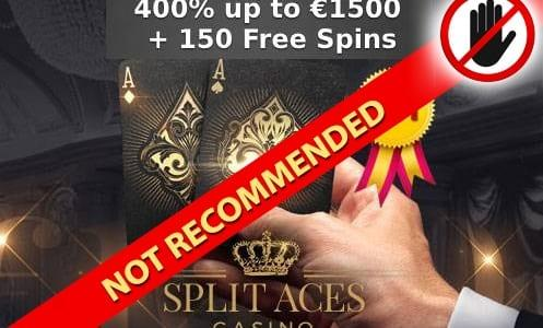 Split Aces Casino Not Recommended