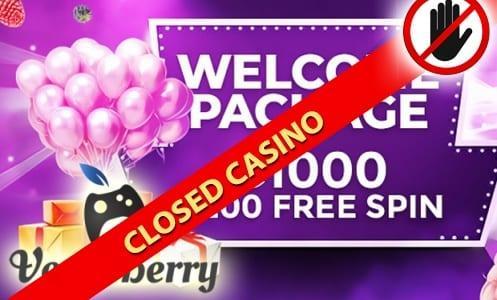 VegasBerry Casino Closed Casino