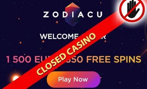 Zodiacu Casino Closed Casino