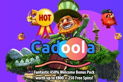 Cadoola Casino Welcome Bonus