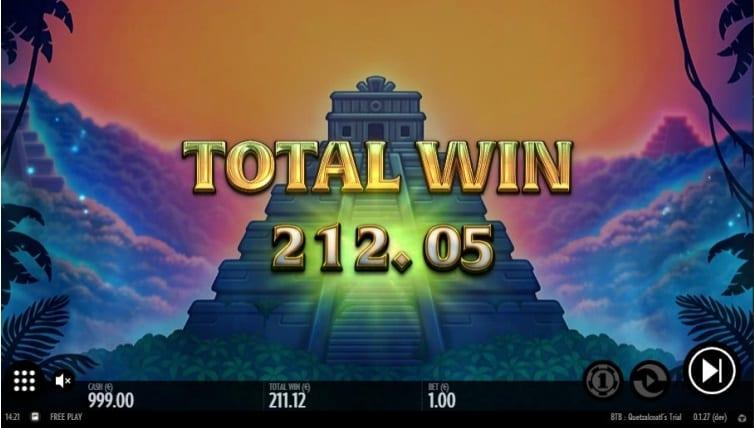 Beat The Beast: Quetzalcoatl's Trial RTP: This Slot has an average RTP of 96.16%, extensive bet range from $0.10 to $100, and a maximum win available of 5,555x your bet or $555,500.