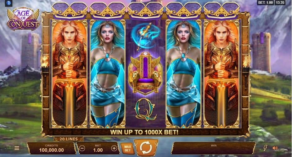 Bonus Features and Free Spins: By scoring throne symbols and reels 1, 3 and 5 you unlock a free spins round.