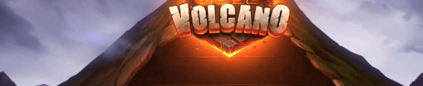 Gold Volcano Slot Art