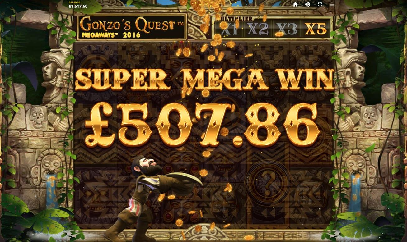 Gonzo's Quest Megaways RTP: One of the aspects that this game remains unrivaled in is their RTP percentage, as it stands at a solid 96% that means that for every $100 you bet, you receive $96 back.