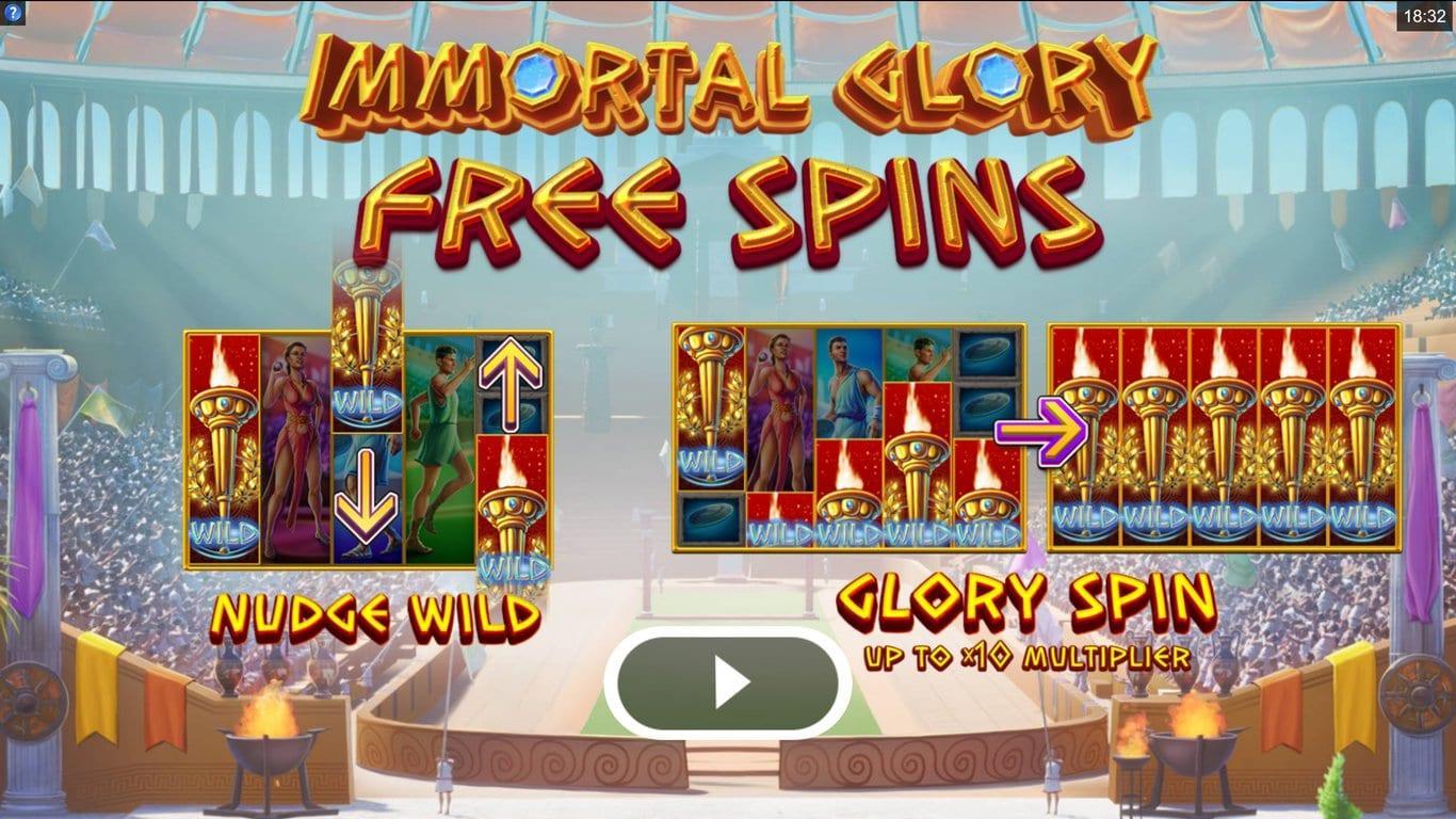 Immortal Glory Slot FreeSpins