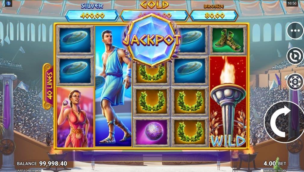 Immortal Glory Slot Jackpot