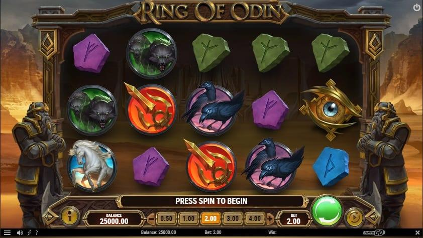 Ring of Odin Slot Symbols: Apart from the regular symbols in the game, there are some special symbols which are responsible for triggering the special features of the game.