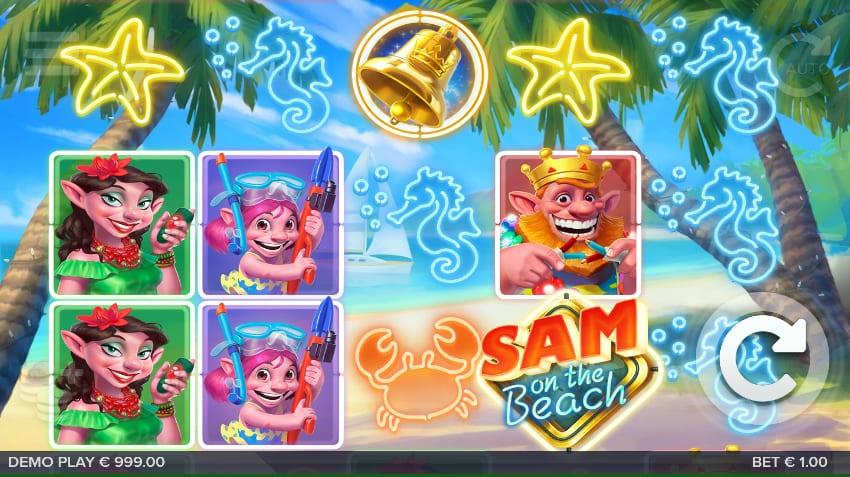 Sam on the Beach RTP: The RTP of this Elk Studios slot is relatively medium, but some would call it high , it stands at 96.30% which by some standards is considered high as well.