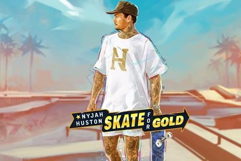 Skate for Gold Slot Logo