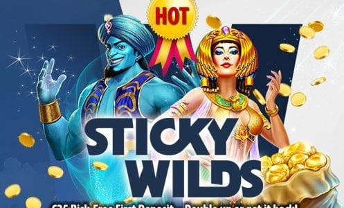 Sticky Wilds Casino Free First Deposit