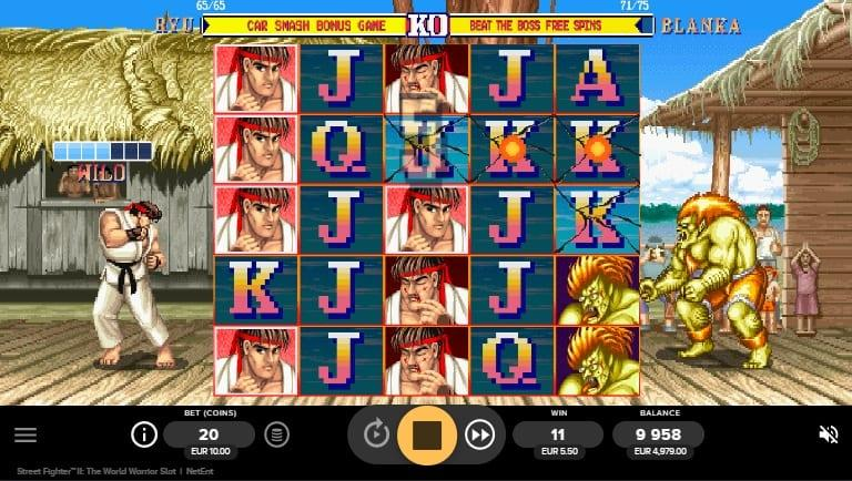 Street Fighter II RTP: This amazing slot game has an RTP of 96.06%. You can spin away with a bet as little as $0.20 and as much as $700.