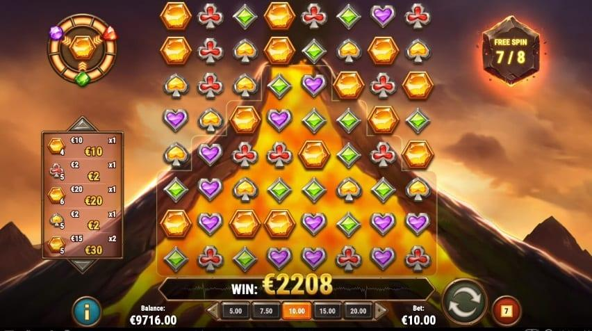 Gold Volcano RTP: The return to player percentage of the newest Play'N Go slot – Gold Volcano is 96.20%.