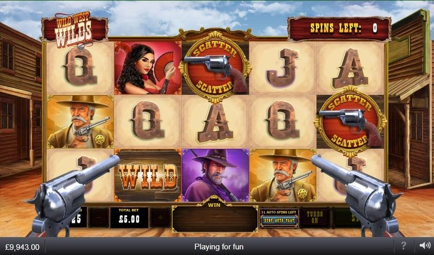 Wild West Wilds RTP: Wild West Wilds has an average RTP of 96.14%, wide bet range from $0.05 to $500 that is suitable for all types of players, and maximum win available of 10,000x your stake or $5,000,000.