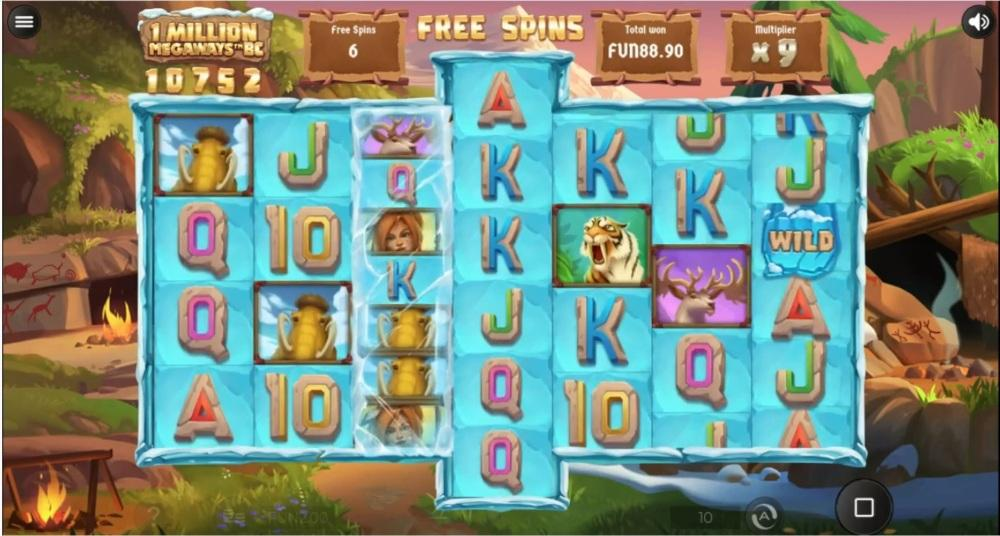 1 Million Megaways BC Slot Return to Player