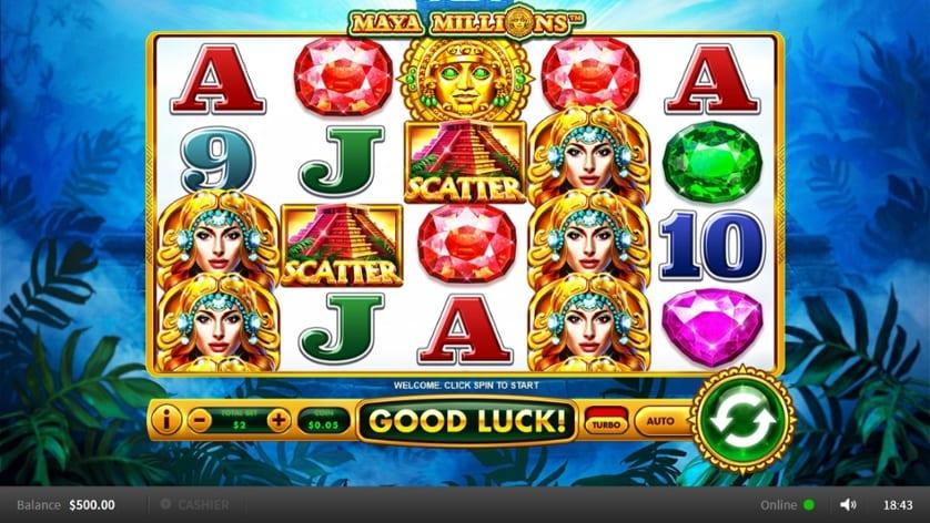Enjoy the Mayan mysticism with Maya Millions slot
