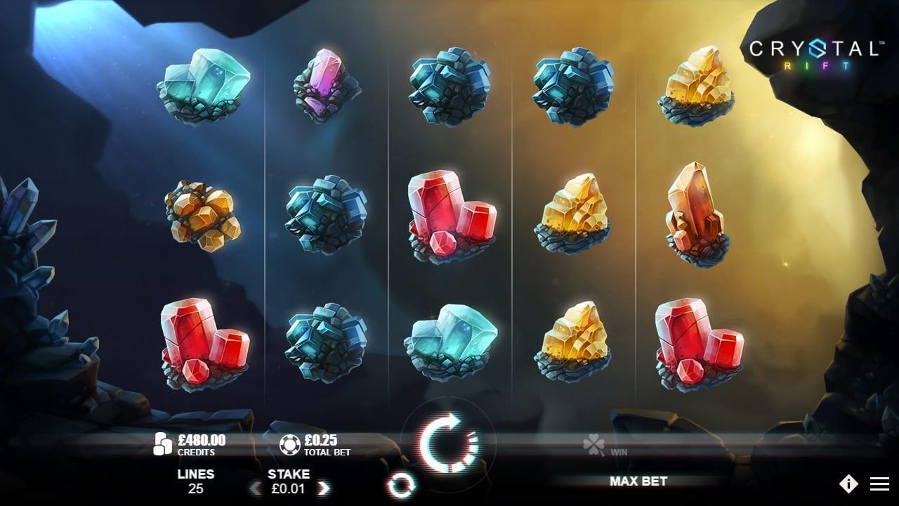 Crystal Rift Slot screenshot
